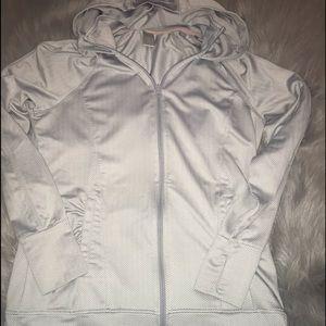 Mondetta zip up hoodie jacket medium EUC